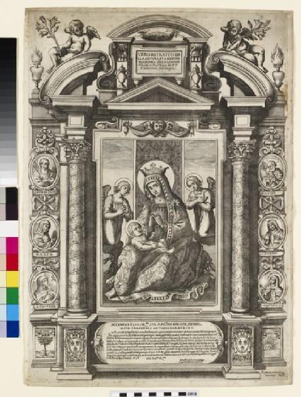 Vero ritratto della Devota et Anticha Madonna del'Carmine