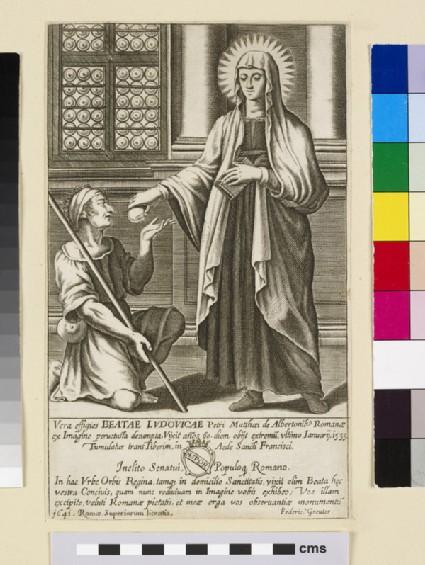 Vera effigies Beatae Ludovicae