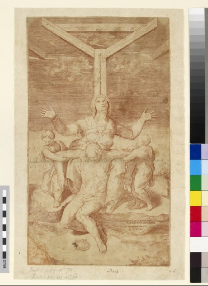 The Lamentation at the Foot of the Cross