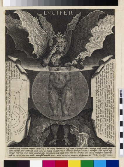 Dante's Lucifer in Hell