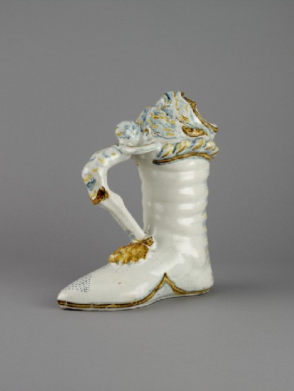 Jug in the form of a boot