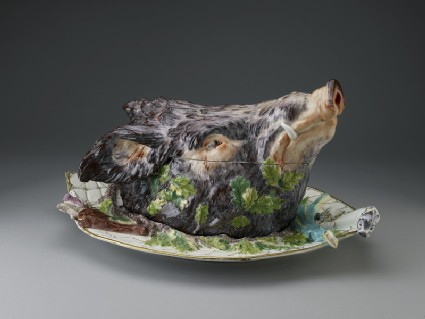 Boar's Head Tureen