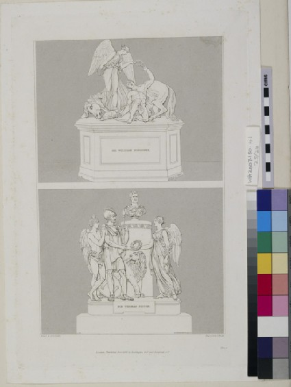 Monuments to Major-General Sir William Ponsonby and Sir Thomas Picton