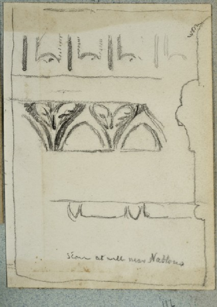 Study of Decorations on Jacob's Well