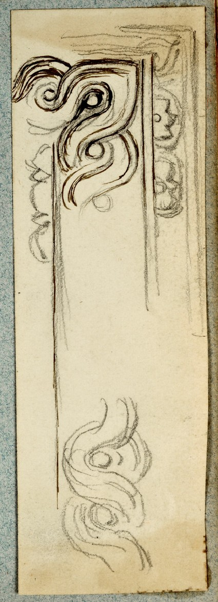 Design for a Frame with a Guilloche Frieze