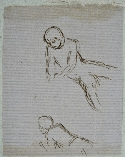 Male Figure in Two Poses