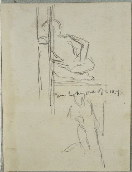 Studies of an Eastern Figure and a standing Figure