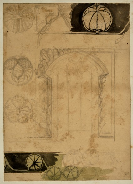 Studies of Ornament for the Design of a Frame