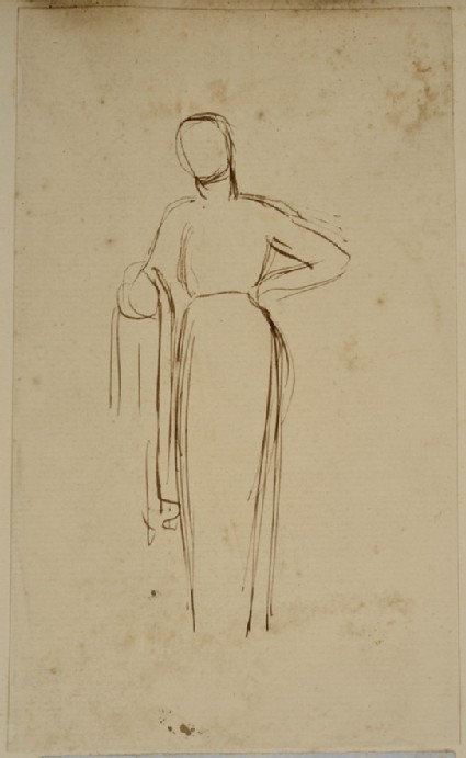 Study of a standing female Figure