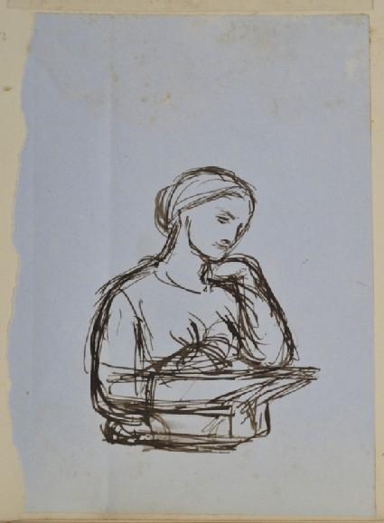 Study of Edith Holman Hunt