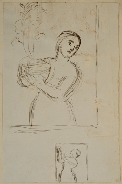 Two Studies for 'Isabella and the Pot of Basil'