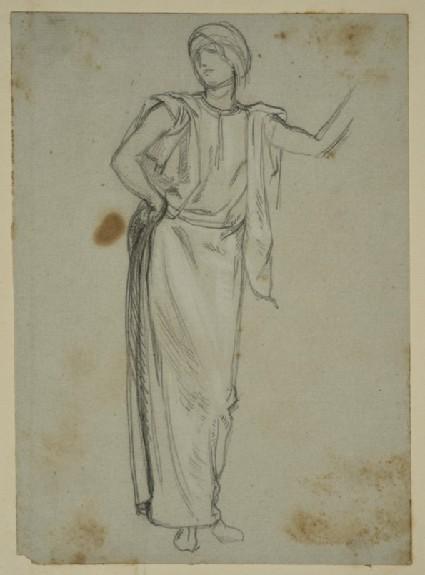 Study of a Woman in Oriental Dress