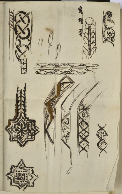 Studies of Decoration for Frames