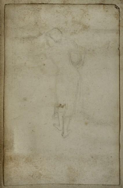 Figure in Eastern Dress carrying a Water Pot