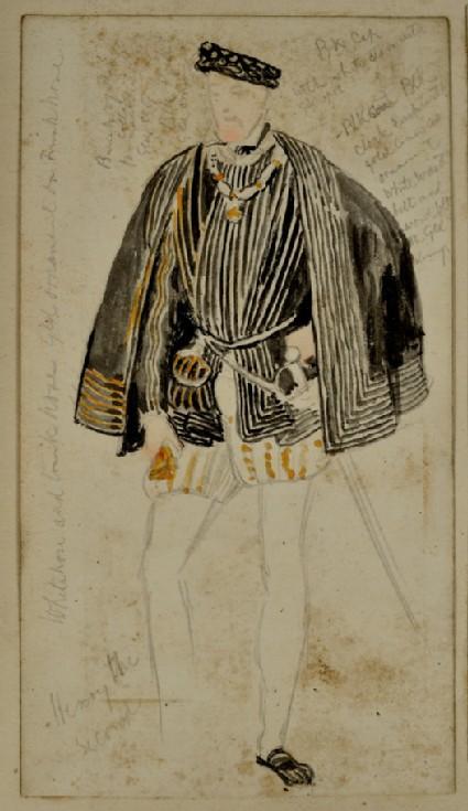 Costume Study: King Henry II of France