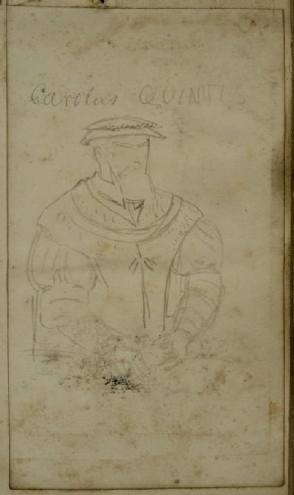 Costume Study of Charles V