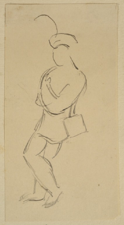 Slight Study of a Standing Figure