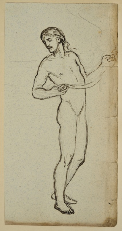 Study for the Figure of Christ in 'Christ and the Two Marys'