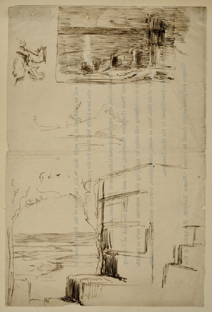 Two Studies of Steps by the Sea