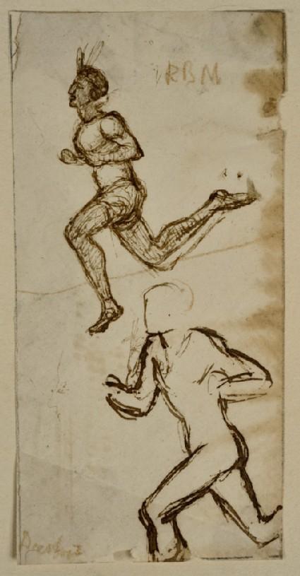 Two Studies of running Figures