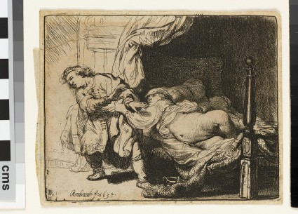 Joseph and Potiphar's Wife (Genesis 39:7-12)
