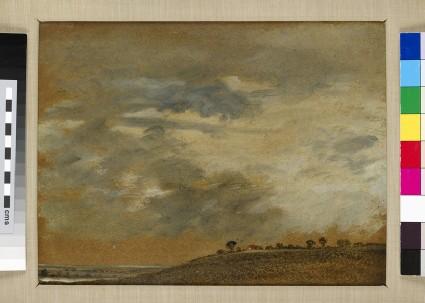 Landscape with Scudding Clouds