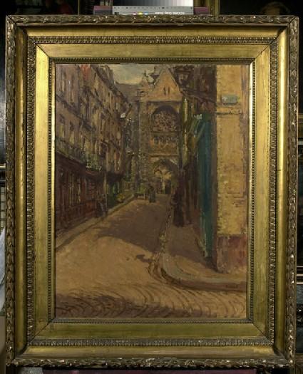 The Rue Pecquet, Dieppe