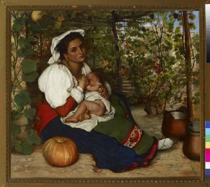 A woman of San Germano