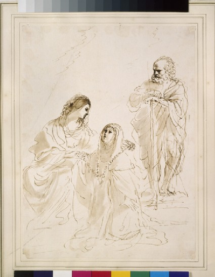 The Virgin, St Theresa and St Joseph