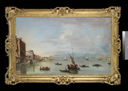 Venice: the Fondamenta Nuove with the Lagoon and the Island of San Michele