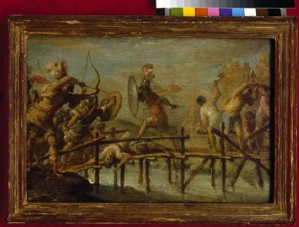 Horatius Cocles Defending the Bridge