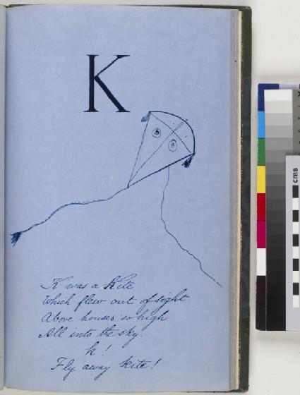 Nonsense Alphabet, letter K