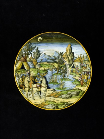 Plate with Hannibal sets an ambush