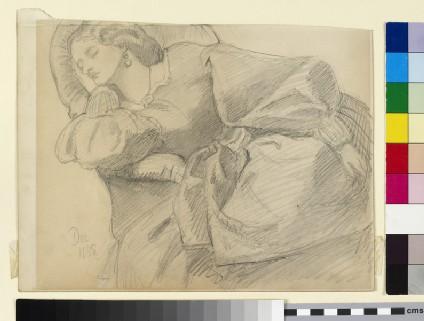 Ruth Herbert asleep