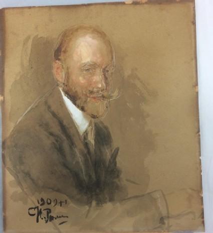 Portrait of Prince Vladimir Bariatinsky (1874-1941)