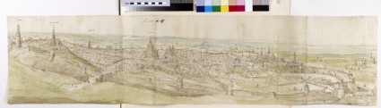 Panoramic View of Leuven from the North-West