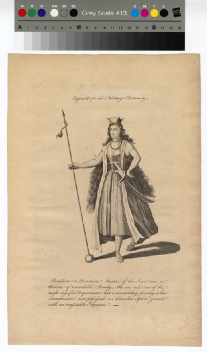 Portrait of Boadicea