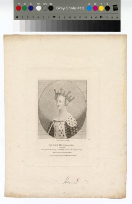 Portrait of Queen Katharine