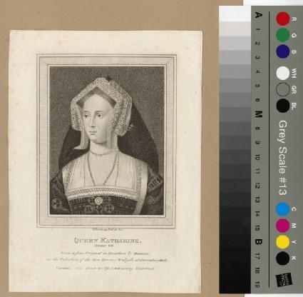 Portrait of Catharine of Aragon