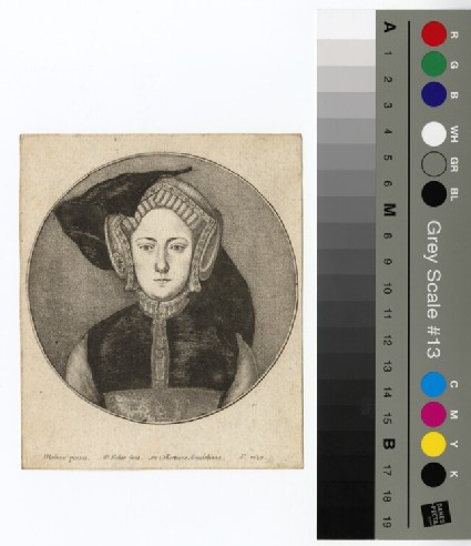 Portrait of Catharine of Aragon