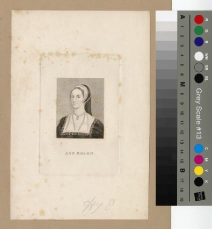 Portrait of Anne Boleyn