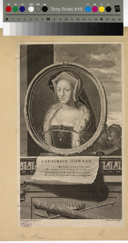 Portrait of Catharine Howard