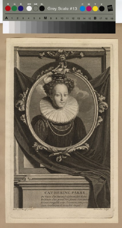 Portrait of Catharine Parr