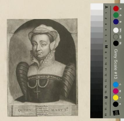 Portrait of Queen Mary