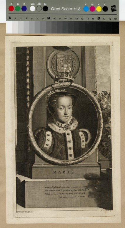 Portrait of Queen Mary
