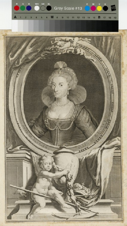 Portrait of Anne of Denmark