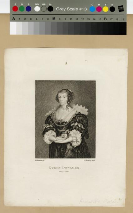 Portrait of Henrietta Maria as Queen Dowager