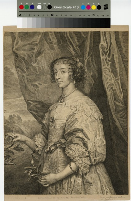 Portrait of Henritta Maria