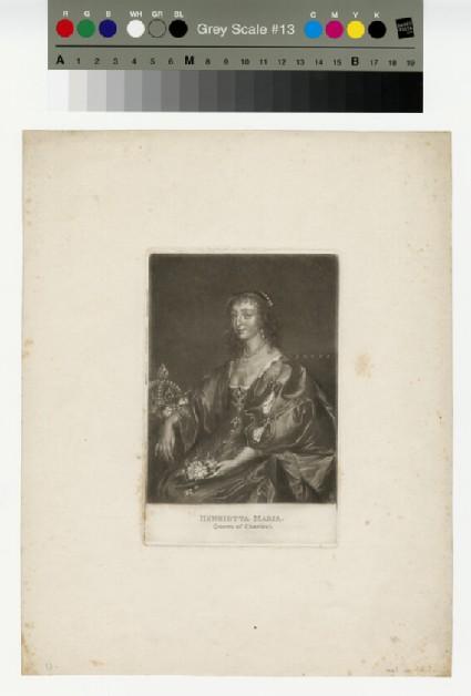 Portrait of Henrietta Maria