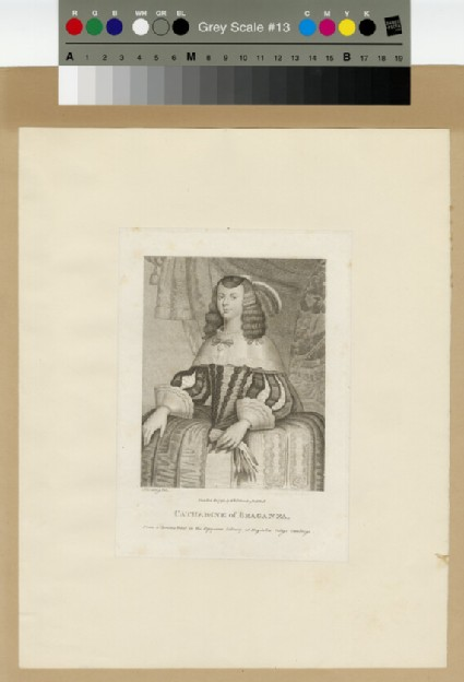 Portrait of Catharine of Braganza